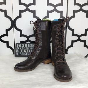 Timberlands Combat Brown Boots